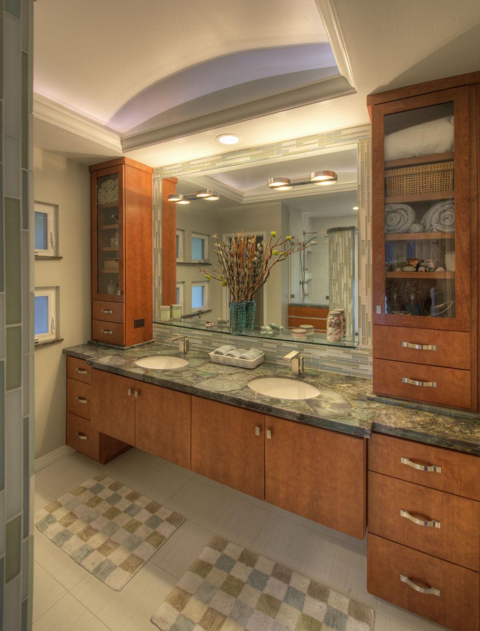 Before After Bathroom Remodel Gallery In San Diego Lars Remodeling Design