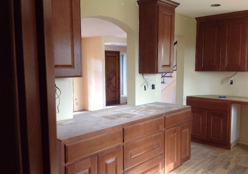 Kitchen Renovation In Progress solana beach kitchen remodeling project progress | lars remodeling