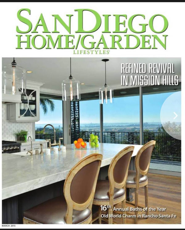 Superbe San Diego Home Garden Magaize Cover