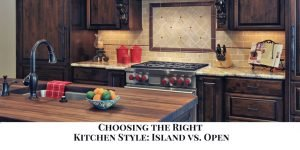 open vs. closed kitchen