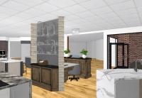 Lars Appliance Showroom Fixtures