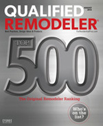 2012 Qualified Remodeler's Top 500
