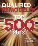 2013 Qualified Remodeler's Top 500