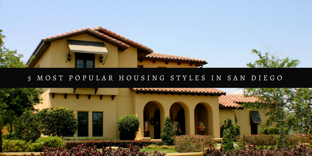 housing styles san diego