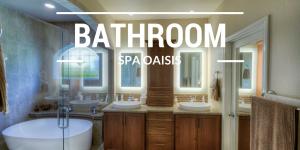 bathroom into spa