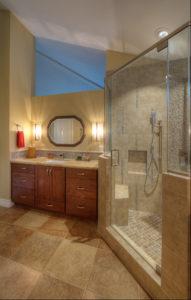 choosing natural colors bathroom