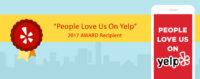 Yelp – 2017 Award Recipient