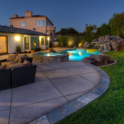 Custom outdoor living