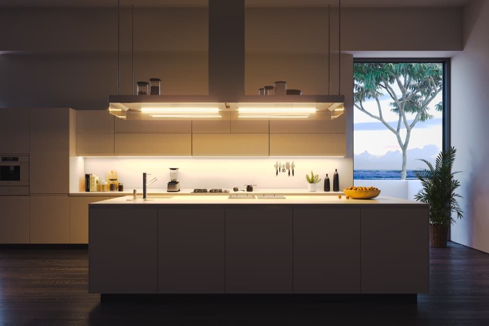 What type of lighting is best for the kitchen