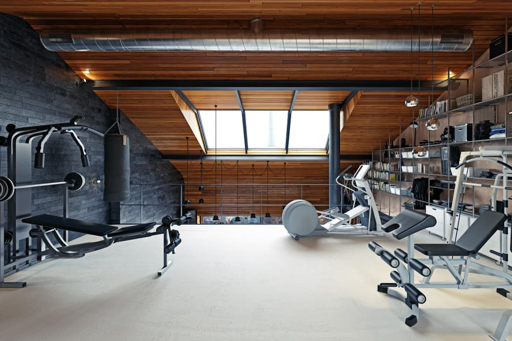 How do you make a home gym