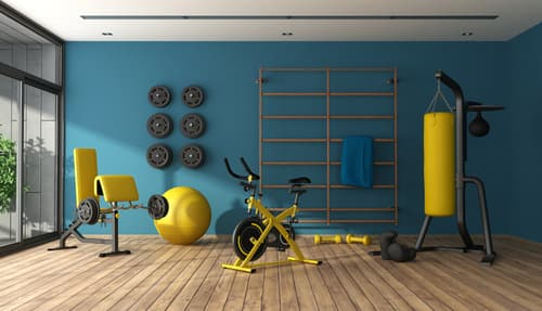 What is the best floor for a home gym
