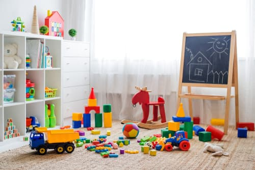 What should be in a playroom