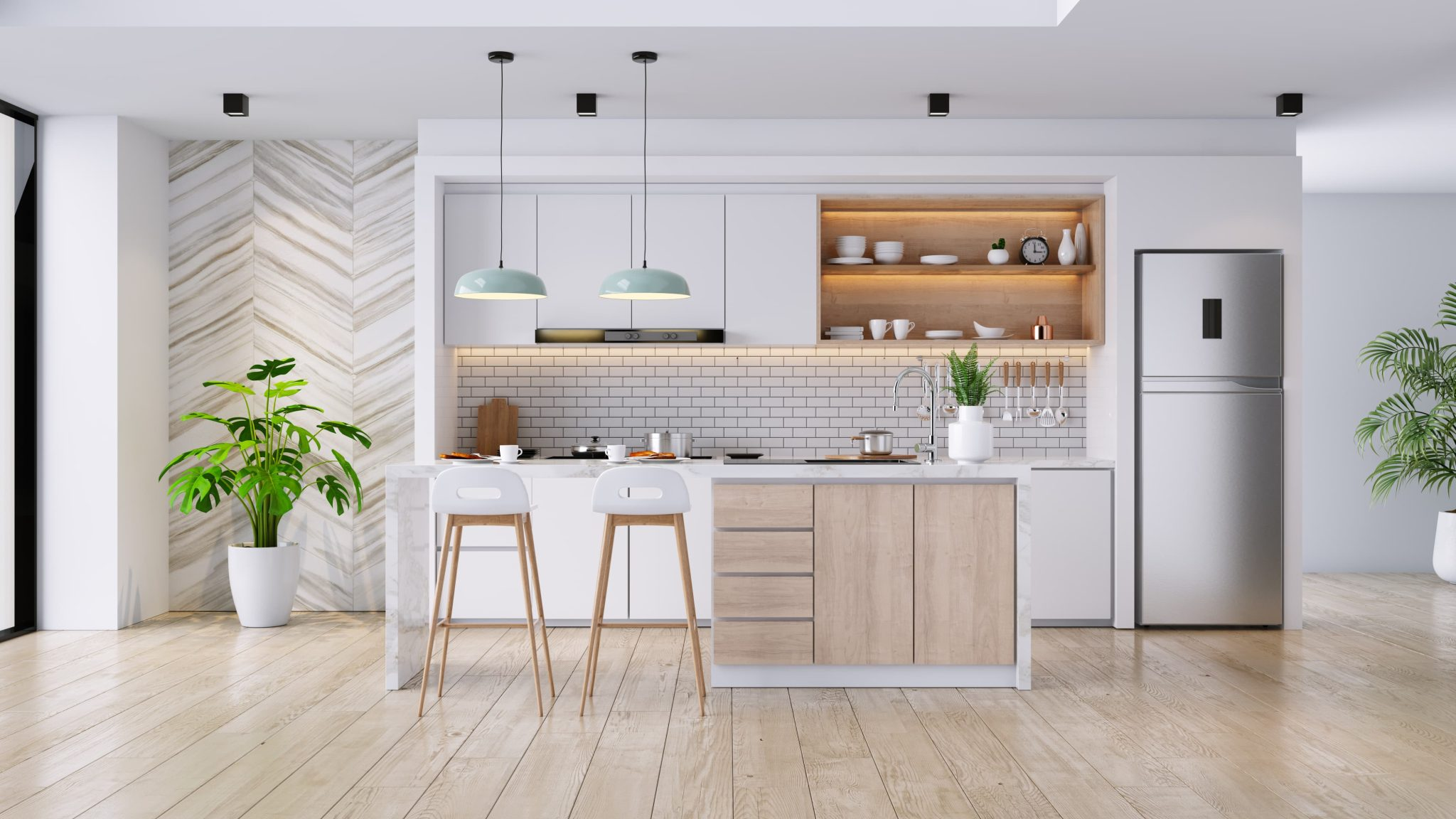 what is modern decor