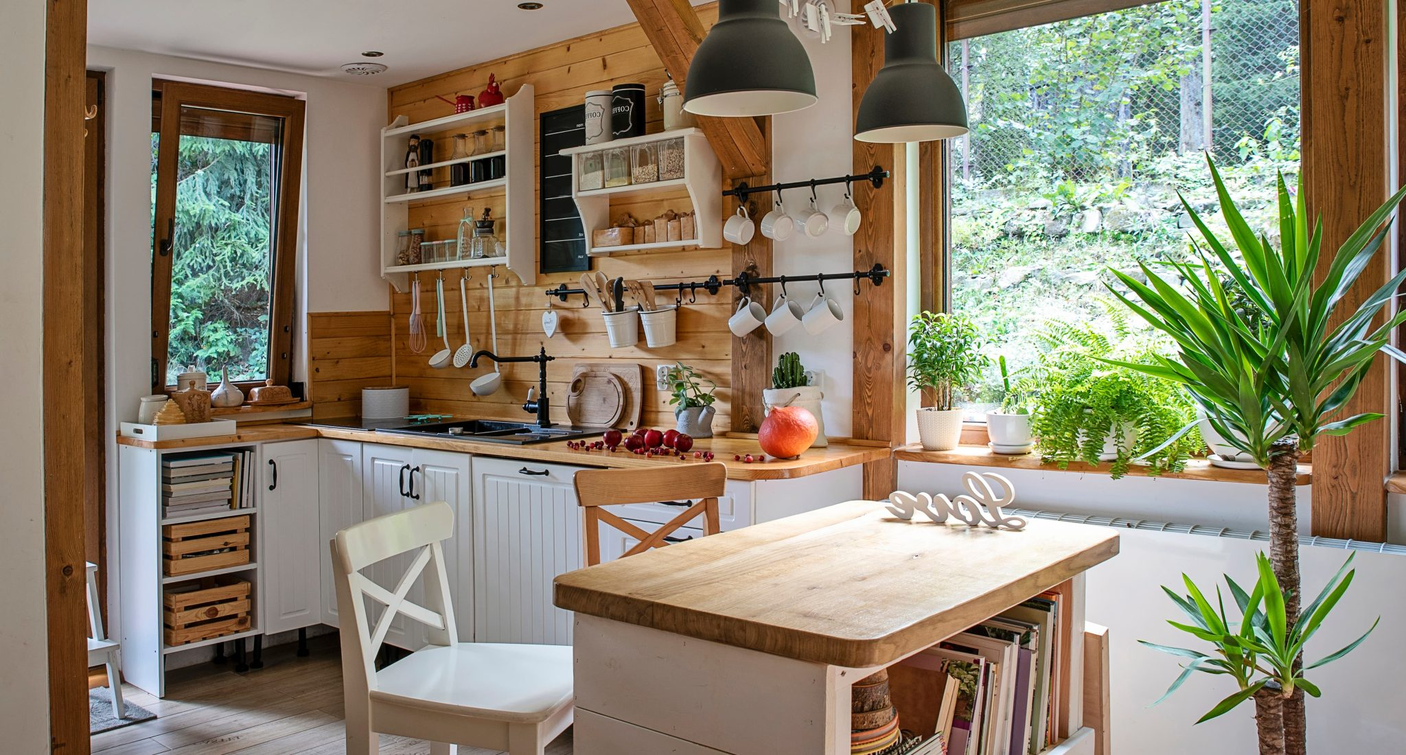 what is rustic style