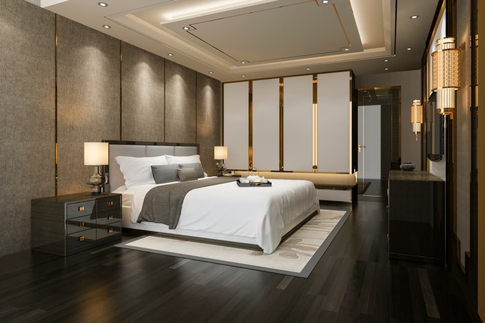 How can I make my master bedroom more luxurious
